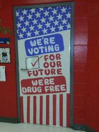 1000+ images about Red Ribbon Week Door Decorating Ideas ...