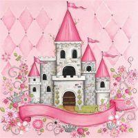 Princess Room Art ~ Personalized Princess Castle