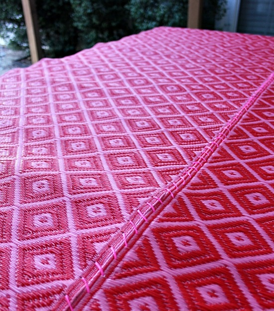 home depot living room rugs western tables turn two outdoor runners into one large rug using ...