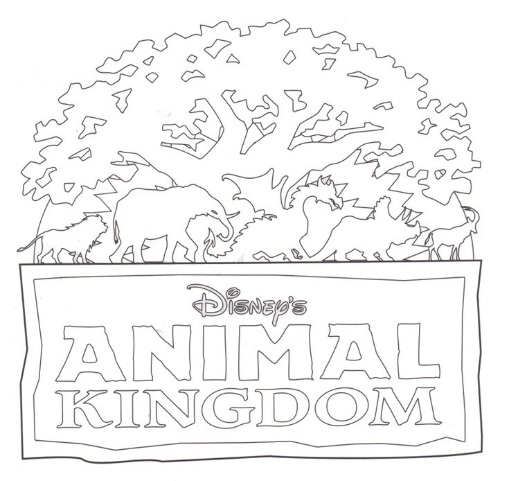 Animal Kingdom. I'm going to be wearing animal themed