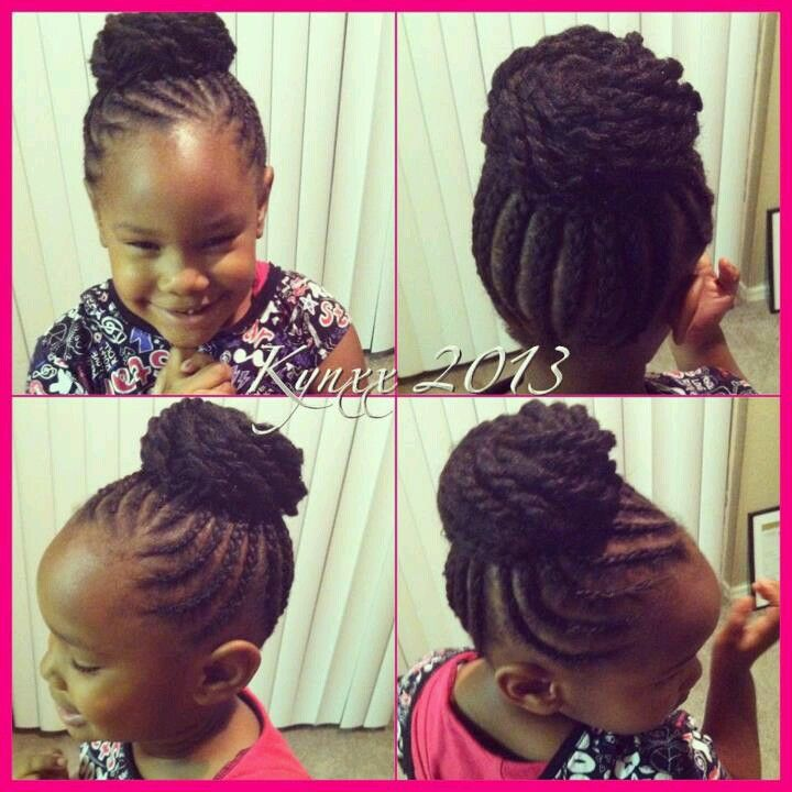 165 Best Images About Natural Kids Cornrow Buns On Pinterest