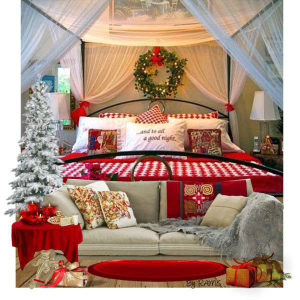 Christmas Bedroom Decor Great For Setting The Mood Guests
