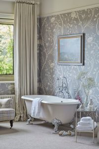 1000+ ideas about Bathroom Wallpaper on Pinterest
