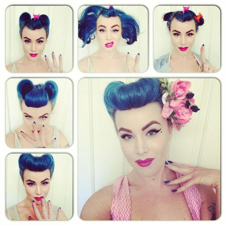 25 Best Ideas About Rockabilly Hair Tutorials On Pinterest Easy