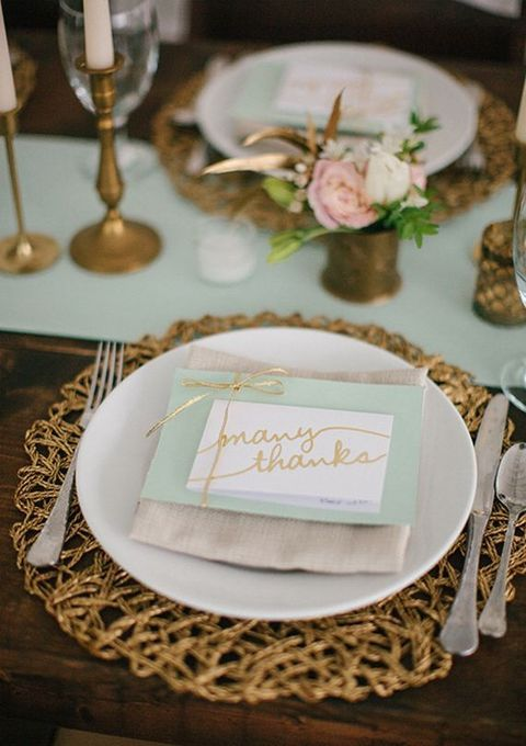 25 best ideas about Wedding Placemat on Pinterest  Black