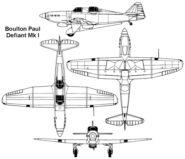 15 best images about Boulton-Paul Defiant on Pinterest