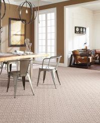 Mohawk SmartStrand Forever Clean carpeting attracts ...