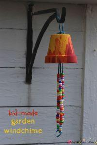Kid's Craft Ideas: Garden Wind Chimes | Gardens, Homemade ...