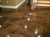 stain concrete floors indoors pictures | Stained Concrete ...