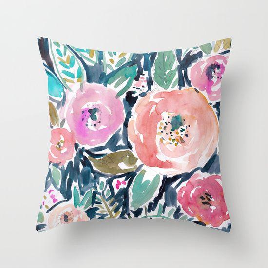 25 best ideas about Floral Pillows on Pinterest  Floral