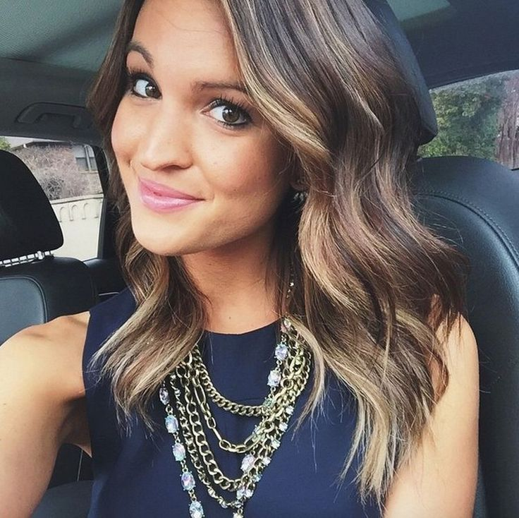 25 Best Ideas About Brown Hair With Highlights On Pinterest