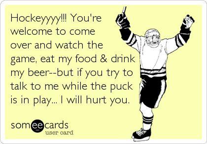 Hockeyyyy!!!
