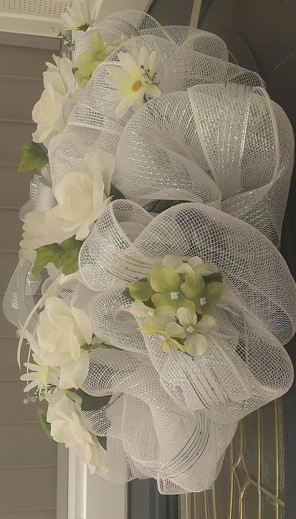 974 best images about Deco Mesh  Tulle  Fabric Wreaths