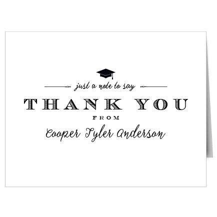 25+ best ideas about Graduation thank you cards on