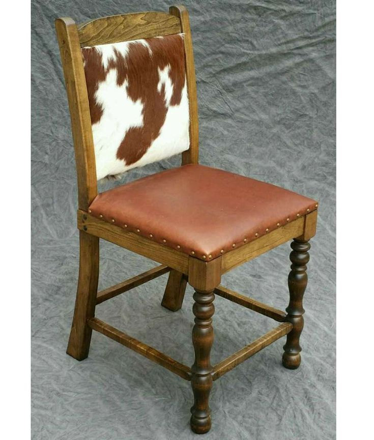 Cowhide Counter Stool Dining Chair Bar Stool Chairs