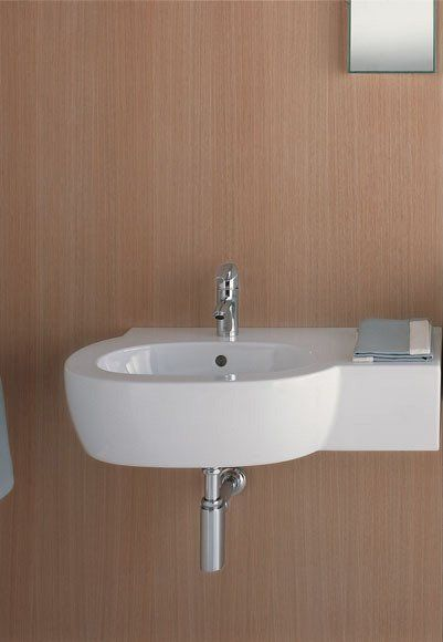 85 best images about TINY Powder Room on Pinterest  Wall mount Small sink and White ceramics
