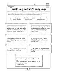 All Worksheets  Elements Of Literature Worksheets ...