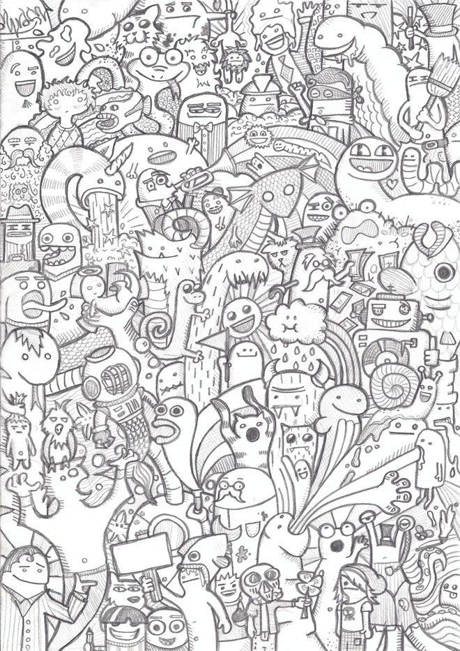 25 Beautiful Doodle Art Works Around The World Around