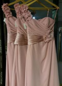 Best 25+ Dusky pink bridesmaid dresses ideas only on ...