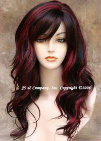 Peekaboo red | Hair Fun | Pinterest | Awesome, My hair and ...
