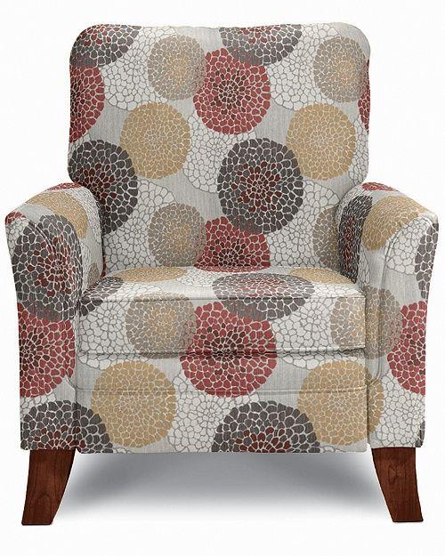 Lazy Boy Riley Recliner Ladybug fabric  Home Decor and