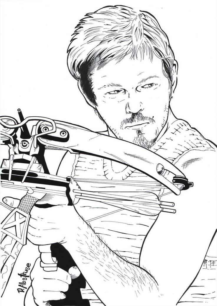 1000+ images about Coloring Pages (The Walking Dead) on