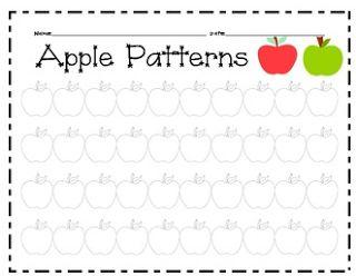 1000+ images about Kindergarten Patterning on Pinterest