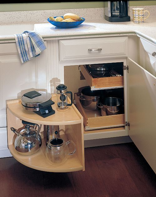 Blind Corner Cabinet Solutions Diy  WoodWorking Projects