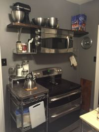 25+ best ideas about Microwave Above Stove on Pinterest