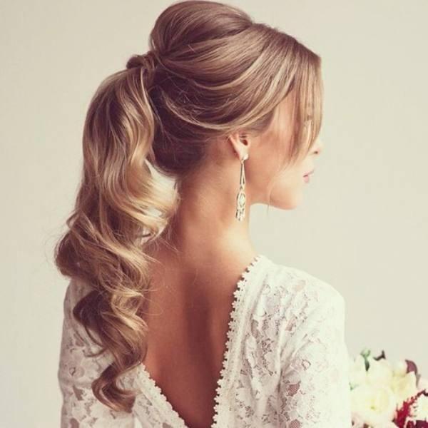 25 Best Ideas About Bridesmaid Ponytail On Pinterest Wedding