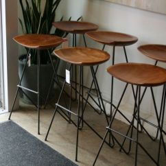 Revolving Chair Bar Stool Covers Hire Bunbury These Mid Century Stools Would Look Great On Your Kitchen Island At One Observatory Park ...