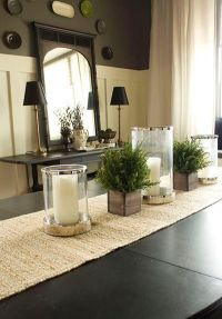 25+ best ideas about Dining Table Centerpieces on