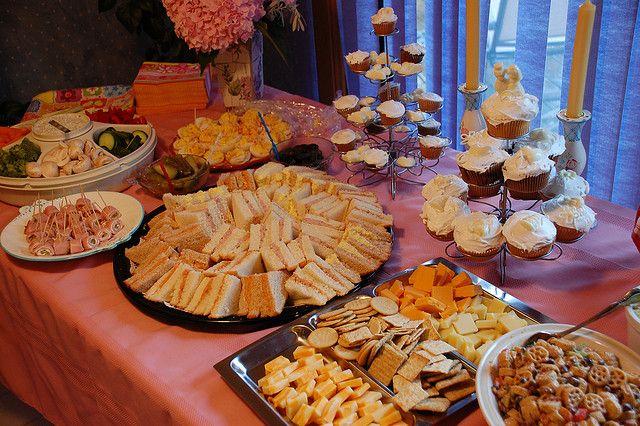 30 Best Images About Bridal Shower Food Ideas On Pinterest