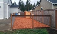 17 Best images about East Olympia Kennel with Cedar Chips