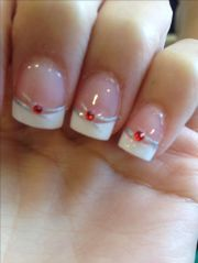 red wedding nails ideas