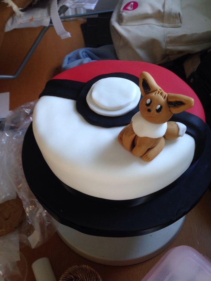 Eevee Pokemon Cake  Food  Drinks  Pinterest  Cakes and Pokemon