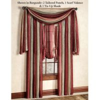 Best 25+ Scarf Valance ideas on Pinterest | Curtain scarf ...