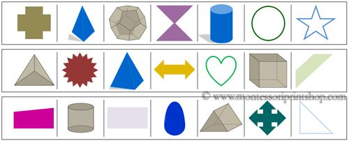 174 best images about montessori shapes geometrie