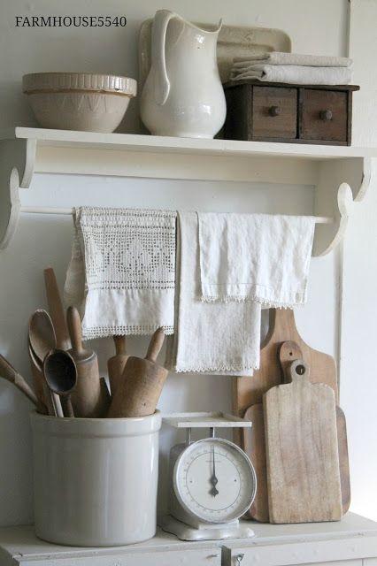 1000 Ideas About White Farmhouse Kitchens On Pinterest
