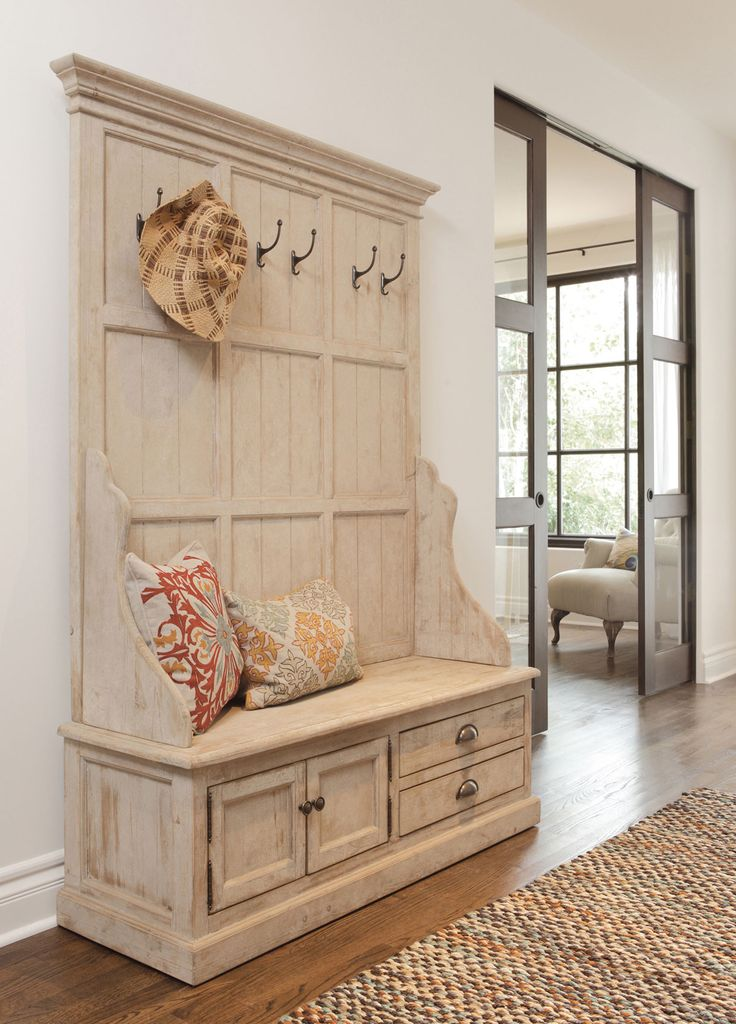 Elodie Pine Storage Entryway Bench Project Ideas
