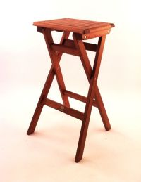 Making Wood Folding Bar Stools