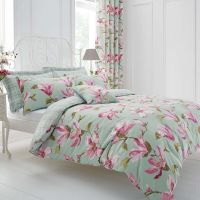 Duck Egg Magnolia Bed Linen Collection