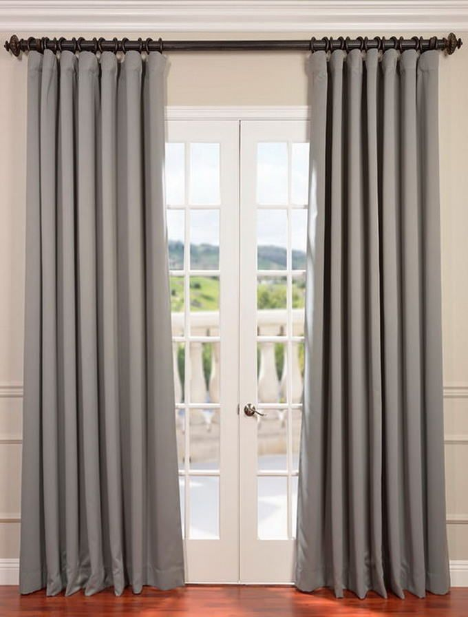 25+ best ideas about Patio door curtains on Pinterest