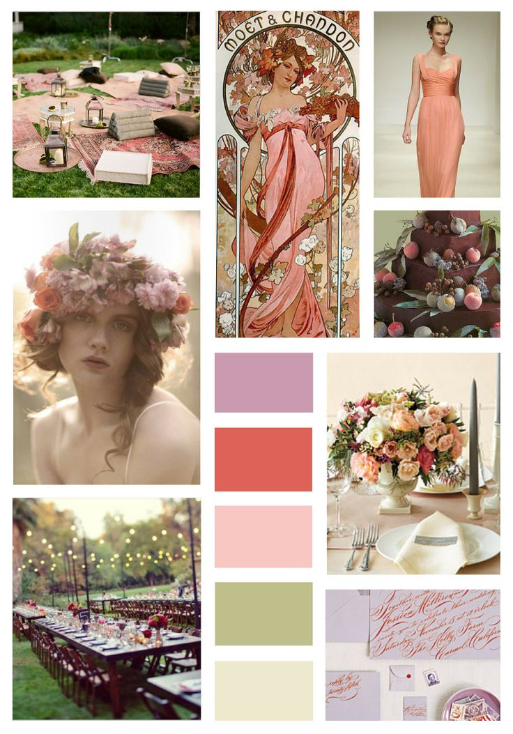 Unique color combo for early September bridal shower