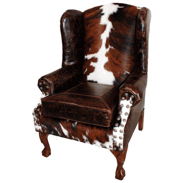 dining wingback chair molded plastic santa fe wing back in brazilian cowhide and buffalo alligator leathers. i again, love ...