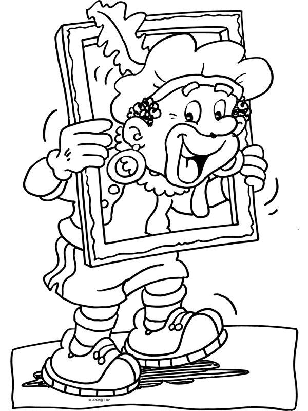 Kleurplaat Piet Piraat Boot ~ Ideeën Over Kleurpagina's