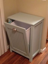 Trash can cabinet   My projects   Pinterest   Trash can ...