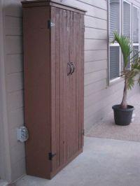 DIY Outdoor Storage Cabinet | Backyard | Pinterest ...