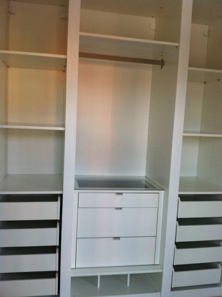 Ikea Built In Closet Hack Closet Pinterest Ikea