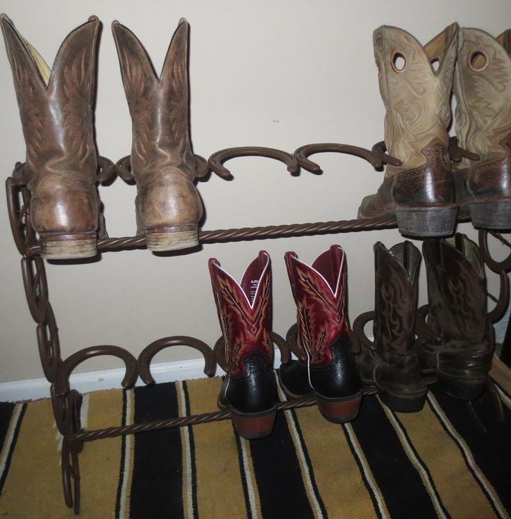 6 Pair Boot Rack Western Designs Things I Want To Buy